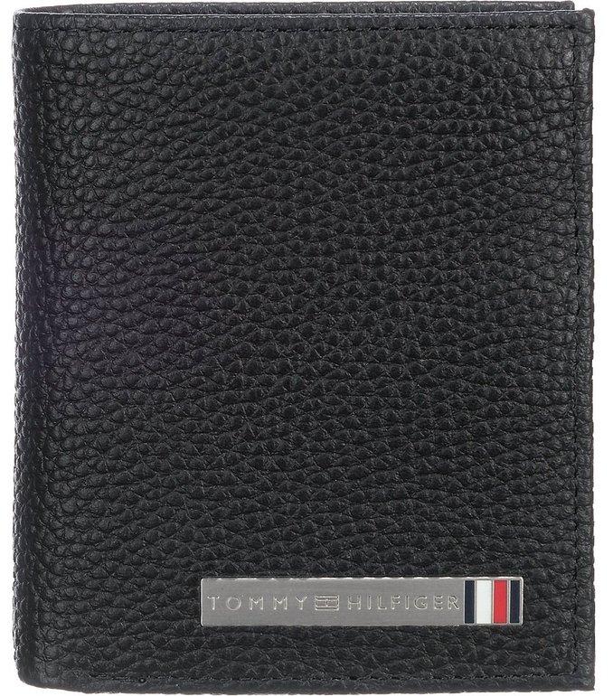 Tommy Hilfiger TH Plaque Geldbörse (schwarz) für 54,94€ inkl. VSK (statt 67€)