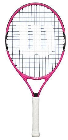 """Wilson Kinder Tennisschläger """"Burn Pink 23"""" - besaitet 16x17 für 17,61€"""