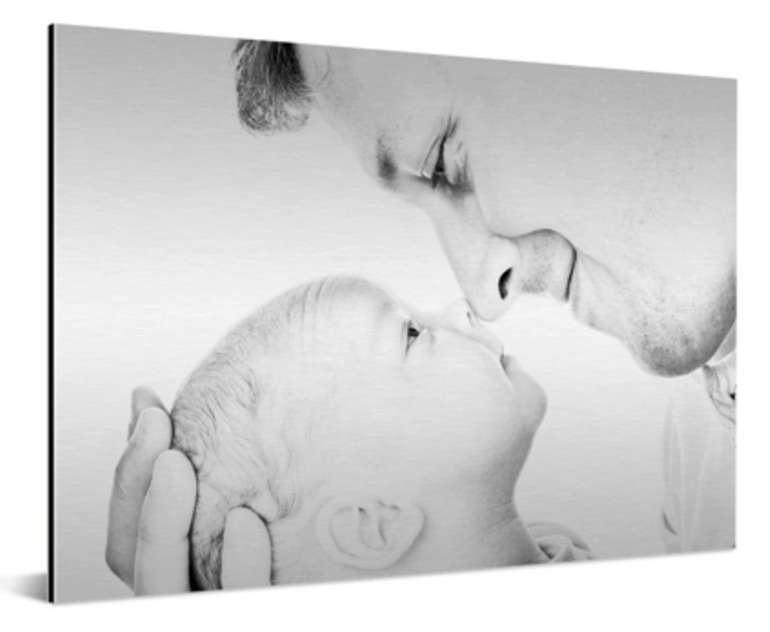 Foto auf Aluminium in verschiedenen Größen z.B. 90x60cm für 25,84€ inkl. Versand (statt 105€)