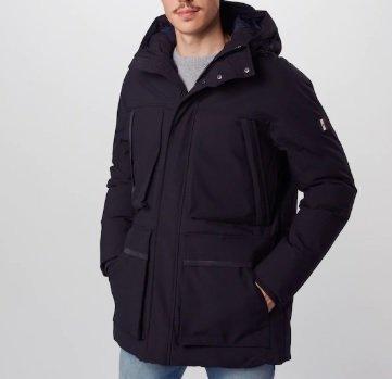 Tommy Hilfiger Jacke in schwarz für 164,16€ inkl. Versand (statt 400€)