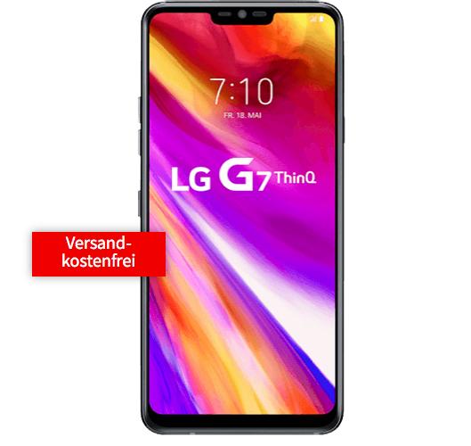 LG G7 ThinQ (29€) + Telekom Flat mit 2GB oder Vodafone mit 4GB für 31,99€ mtl.