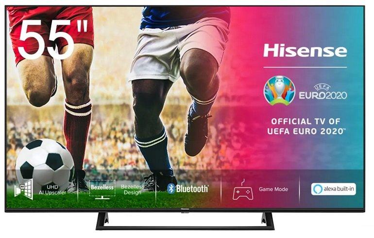 "AO.de: Hisense-TVs reduziert, z.B. Hisense 50"" AE7200F UHD 4K Fernseher für 299€ (statt 382€)"