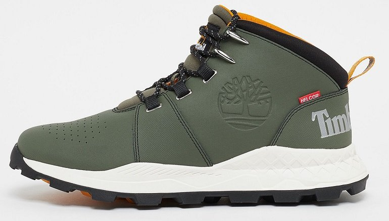 Timberland Brooklyn City Mid Dark Green Helcor Boots für 55,30€ (statt 73€)