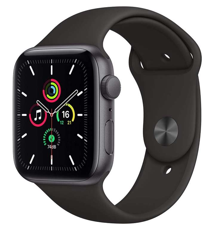 Apple Watch SE (44mm, GPS) Sportarmband für 278,73€ inkl. Versand (statt 299€)