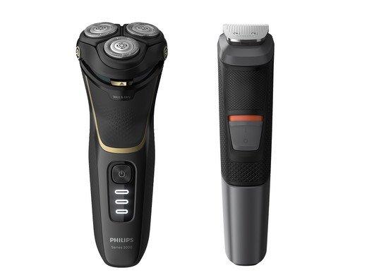 Philips S3333/58 Nass-/Trockenrasierer (PowerCut-Schersystem) für 85,90€ inkl. Versand (statt 149€)