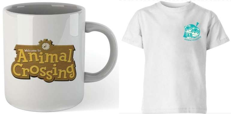 Nintendo Animal Crossing Bundle: T-Shirt & Tasse für 9,99€ (statt 25€)