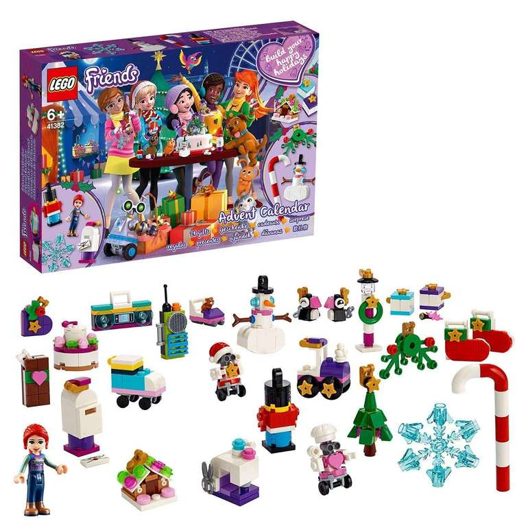 Lego 41382 - Friends Adventskalender 2019 für 18,79€ inkl. VSK (statt 21€)