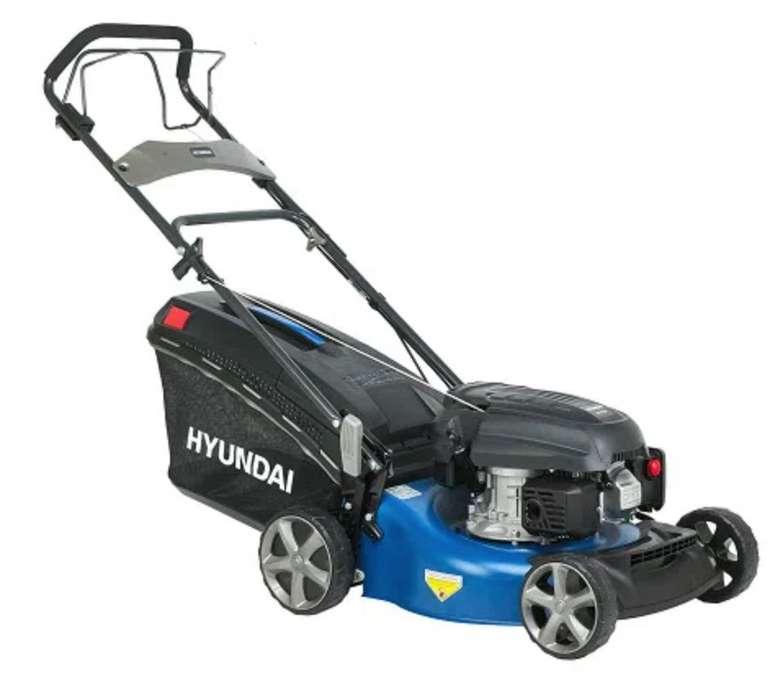 Hyundai LM4602G Benzin-Rasenmäher mit Mulchfunktion und  Radantrieb für 251,10€ (statt 289€)