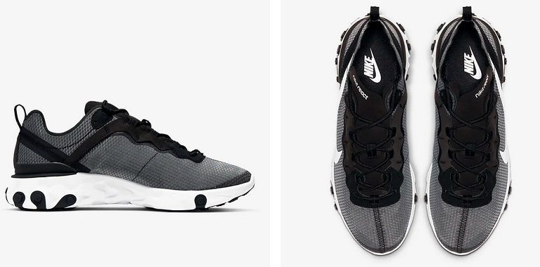 Nike React Element 55 SE Herren Sneaker