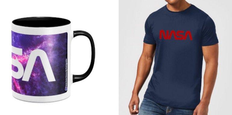 Nasa T-Shirt + Tasse