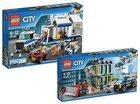 Lego Mobile Einsatzzentrale 60139 + Bankraub mit Planierraupe 60140 für 53,93€