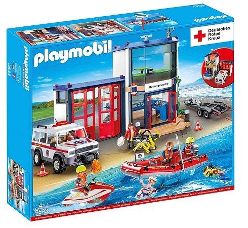 Playmobil DRK Mega Set - Rettungswache (9533) für 49,99€ inkl. VSK