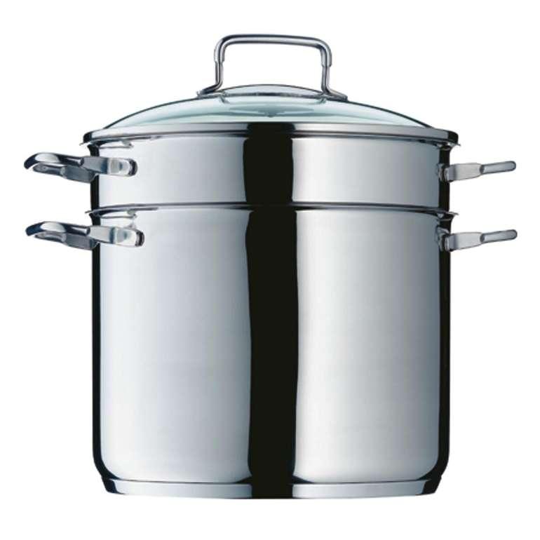 WMF Nudeltopf mit Glasdeckel (24 cm, 7 Liter) für 59,95€ inkl. Versand (statt 86€)