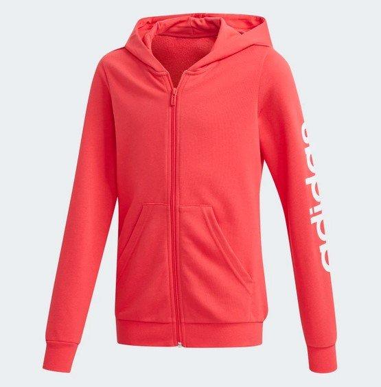 Adidas Linear Kinder Kapuzenjacke in Pink für 23,77€ inkl. Versand (statt 35€) - Creators Club!