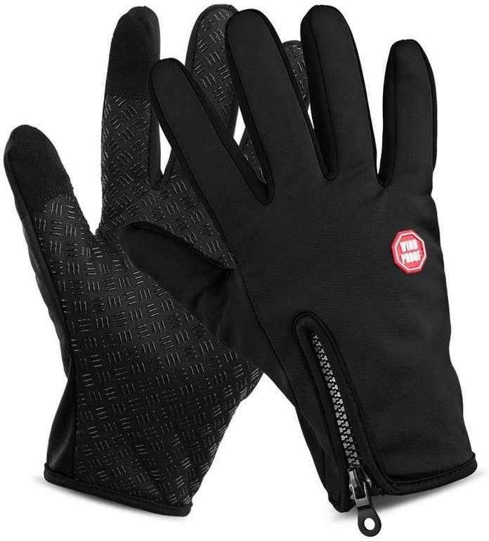 Lixada Touchscreen Handschuhe (3 Modelle, wasser-/winddicht) ab 6,99€