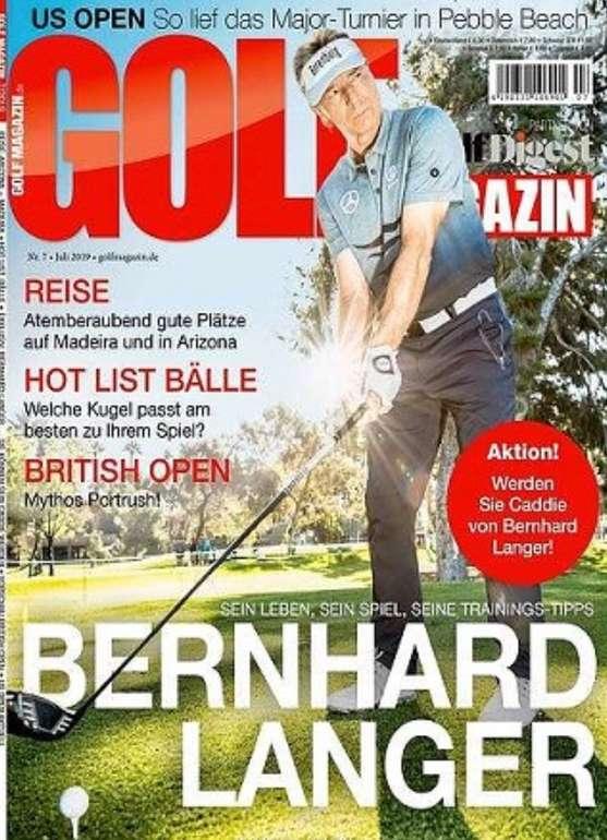 Halbjahres-Abo Golf Magazin für 4,99€ (statt 48€)
