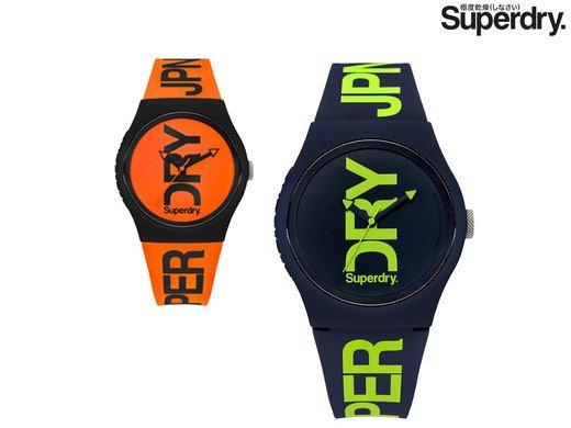 2er Pack Superdry Urban Stealth Armbanduhren für 23,90€ inkl. Versand