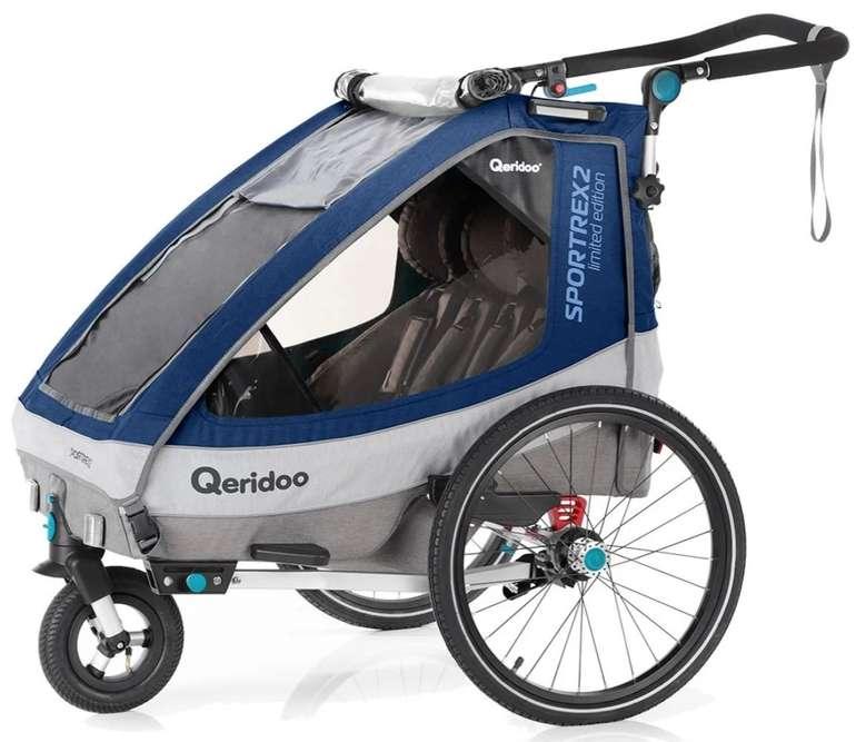 Qeridoo Kinderfahrradanhänger Sportrex2 (2020) Limited Edition für 353,95€ inkl. Versand (statt 439€)