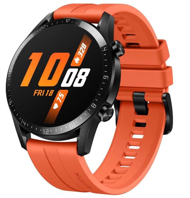 Huawei Watch GT 2 orange, 46mm für 154€ inkl. Versand (statt 177€)