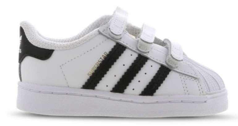 Adidas Superstar Velcro Baby Sneaker für 29,99€ inkl. Versand (statt 41€)