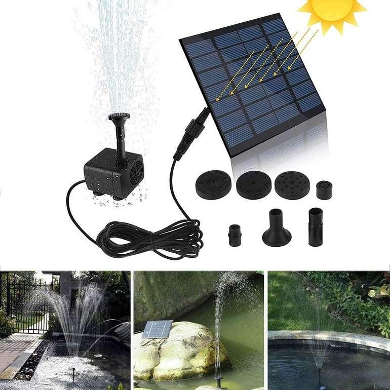 Benkeg Mini Solar Wasserpumpe für 13,99€ inkl. Versand (statt 19€)