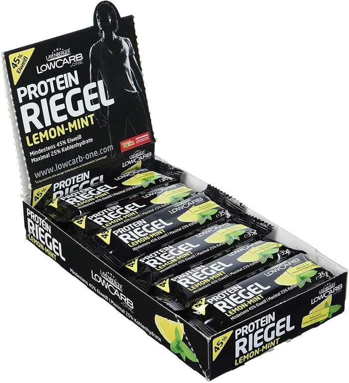 Fehler? 18er Pack Layenberger LowCarb.one Protein-Riegel Lemon-Mint (18 x 35 g) ab 7,10€ inkl. VSK