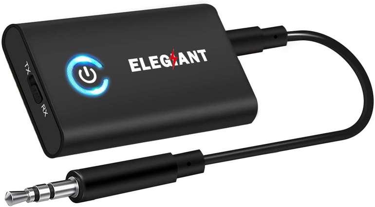 Elegiant 2-in-1 Bluetooth Adapter für 16,09€ inkl. Prime Versand (statt 23€)