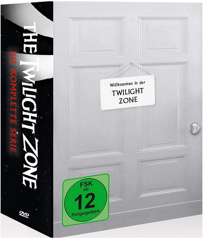 The Twilight Zone - Die komplette Serie, 30 DVDs für 46€ inkl. VSK (statt 62€)