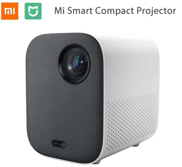 Xiaomi Mi Compact Projector: Tragbarer DLP-Beamer (1080P Nativ, 500 Lumen, Android TV, 16GB, 2GB RAM) für 299€