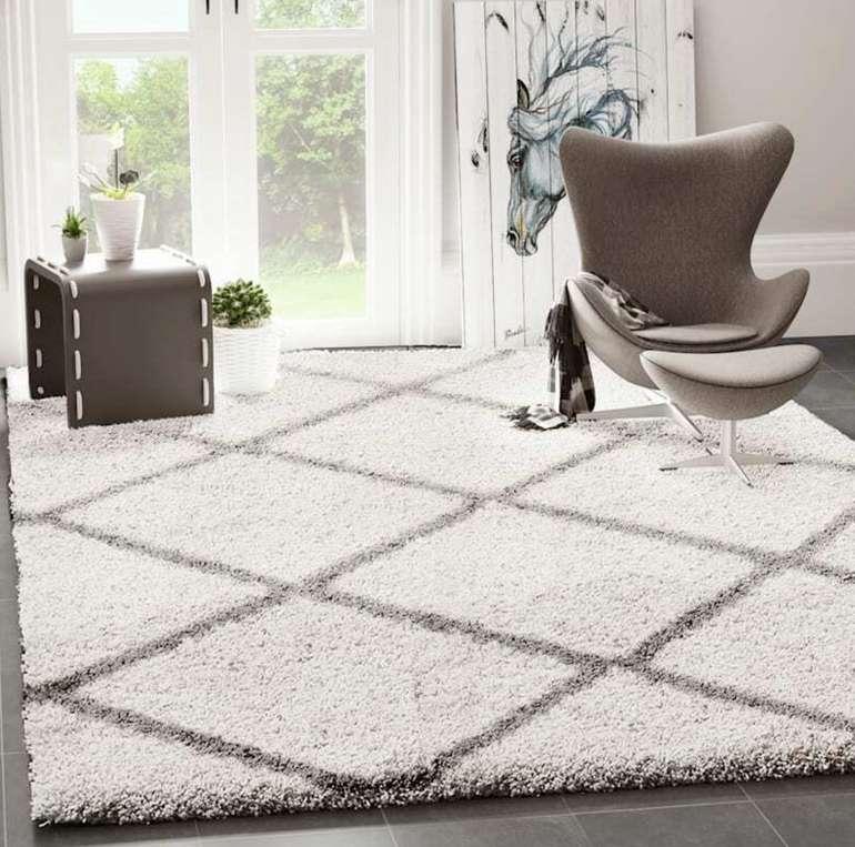 eBay: 10% Rabatt auf Möbel & Wohnen - z.B Prime Shaggy Teppich für 17,99€ inkl. Versand (statt 20€)