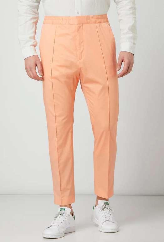 "Hugo Jogpants ""Harlys"" in Orange mit fixierten Bügelfalten für 49,99€inkl. Versand (statt 100€)"