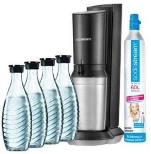 SodaStream Crystal 2.0 Titan inkl. CO2-Zylinder und 4 Glaskaraffen für 91,02€ (statt 106€) - Newsletter!