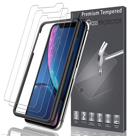 Schnell! 3er Pack K&L LK iPhone XR Glas-Displayschutzfolien kostenlos bestellen