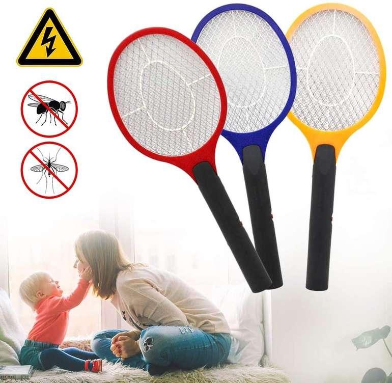 Hengda elektrische Fliegenklatschen im 3er Pack für 11,12€ inkl. Versand (statt 16€)