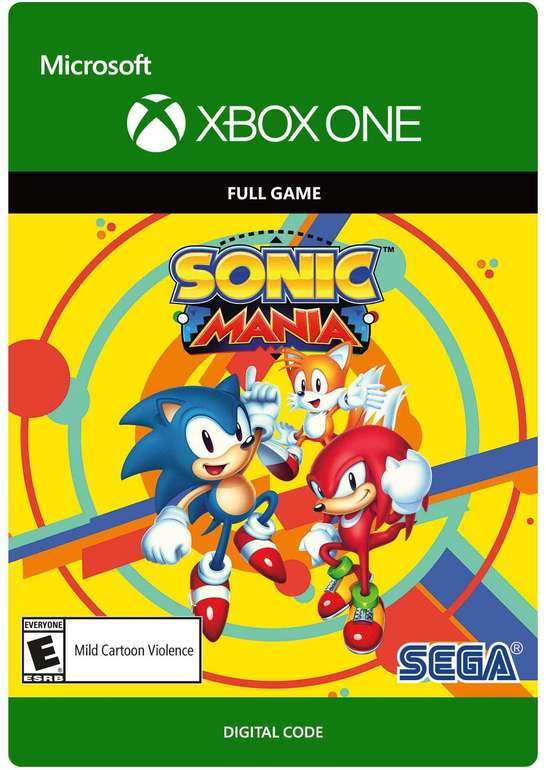 Sonic Mania (Xbox One) für 9,39€ (Download Code)
