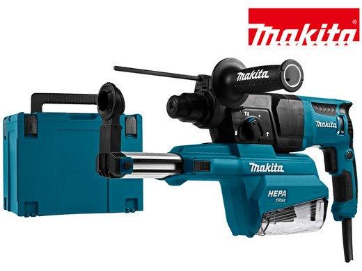 Makita HR2650J Komibohrer 230V 800W SDS+ mit Absaugvorrichtung für 185,90€ (statt 230€)