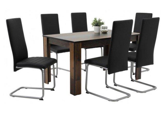 Tischgruppe Sandy 7-teilig für 205,50€ inkl. Versand (statt 305,50€)