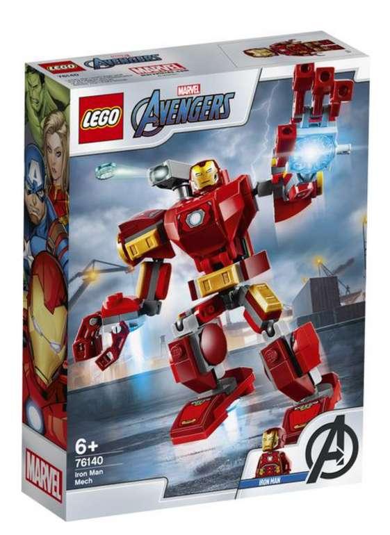Thalia: Lego Marvel Produkte zu starken Preisen - z.B Iron Man Mech (76140) für 7,79€ inkl. Versand
