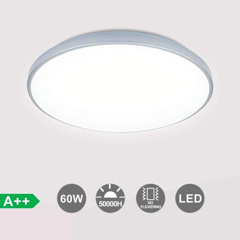 Verschiedene Vingo LED Deckenleuchten reduziert, z.B. Rund 60W weiß für 23,49€
