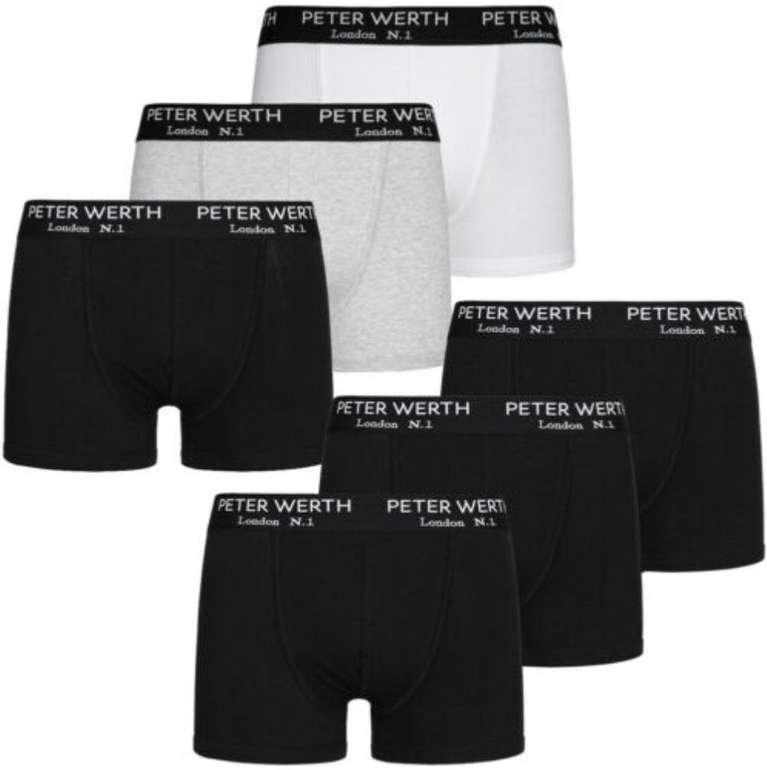 3er Pack Peter Werth London N.1 Jefferson Herren Boxershorts für 12,99€ (statt 17€)