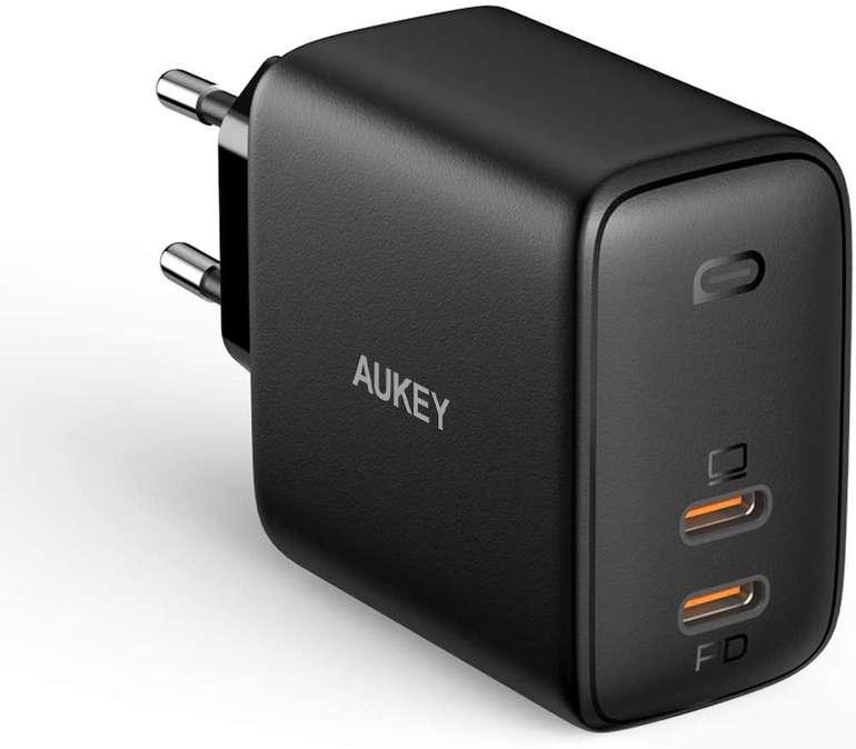 Aukey Omnia 65W USB C Ladegerät für 32,49€ inkl. Versand (statt 50€)