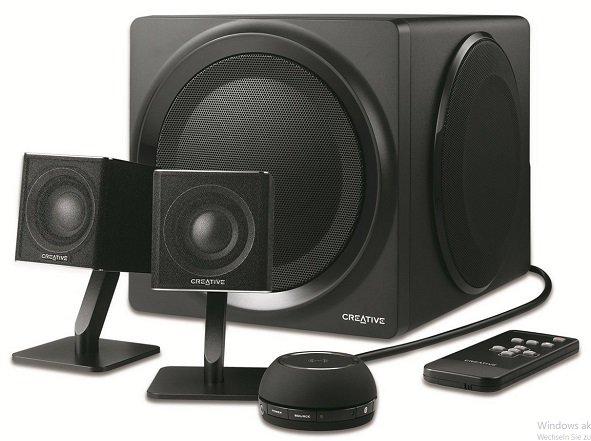 Creative T4 2.1 Bluetooth-Lautsprechersystem mit NFC für 179,90€ (statt 248€)