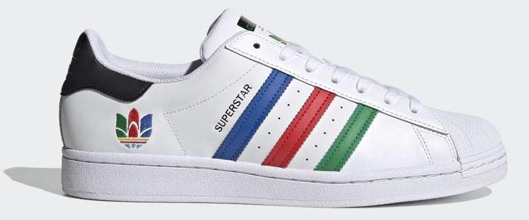 Adidas Superstar White Green Core Black für 59,97€ inkl. Versand (statt 70€) - Creators Club