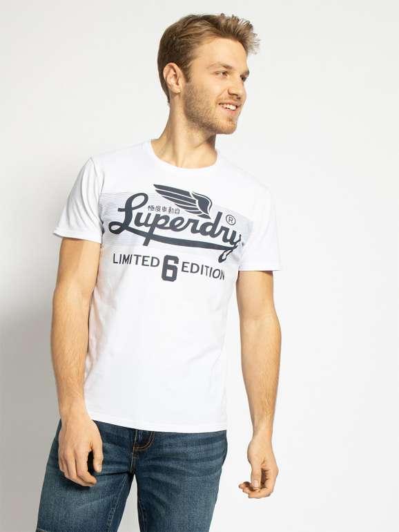 """Superdry T-Shirt """"Limited Icarus Colour Blend Lite"""" in weiß für 15,70€ inkl. Versand (statt 25€) - MBW 29,99€!"""