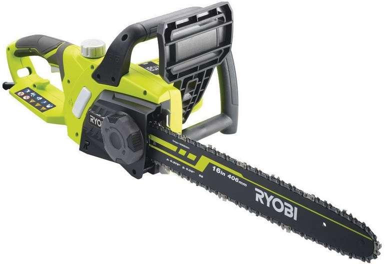 Ryobi RCS2340B 2300 W Elektro-Kettensäge für 94,95€ (statt 138€)