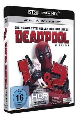 Thalia: 18% Rabatt auf Filme, Musik & mehr - z.B. Deadpool 1 + 2 (UHD) ab 28,69€