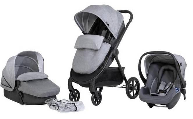 """Set CBX Onida Travelsystem """"Comfy Grey"""" für 199,90€ inkl. Versand (statt 256€)"""