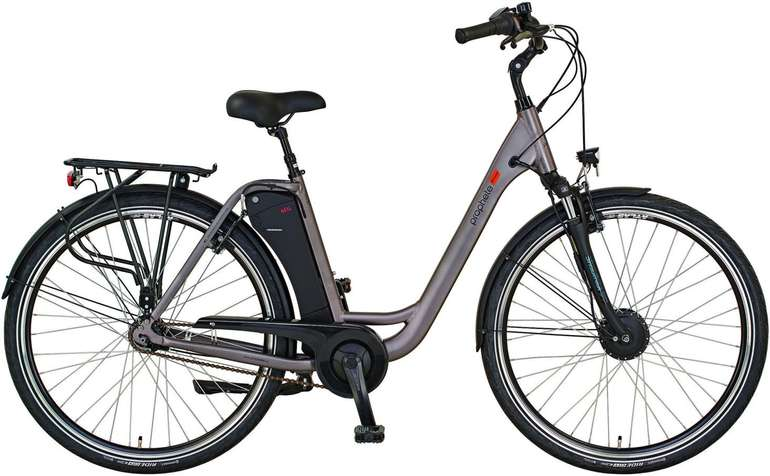 "Prophete Geniesser 20.EMC.30 - 28"" Damen City Elektro-Fahrrad für 1193,95€ (statt 1400€)"