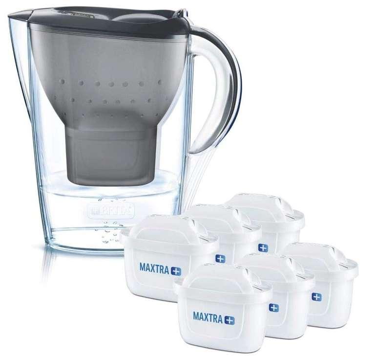 Brita Wasserfilter Marella inkl. 6 Maxtra+ Filterkartuschen für 27,99€ (statt 38€) - Prime!