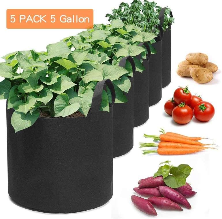 King Do Way Pflanzentaschen im 5er Pack für 12,59€ inkl. Versand (statt 18€)